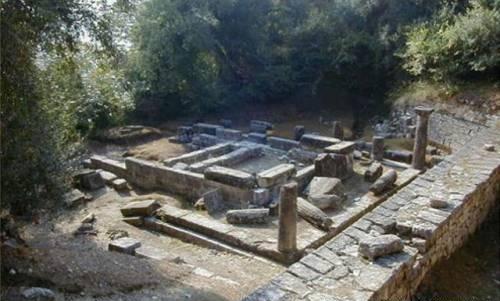 Храм Кардаки на Корфу